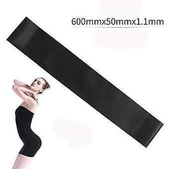 5 farger yoga motstand gummibånd for innendørs / utendørs treningsutstyr