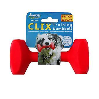 كليكس الكلب تدريب الدمبل لُي