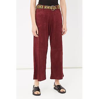 Pants Bordeaux Please Woman