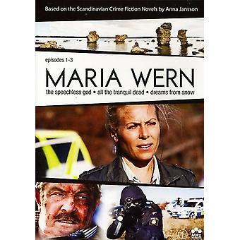 Maria Wern: Episodes 1-3 [DVD] USA import