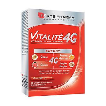 Energy Vitalite 4 20 vials