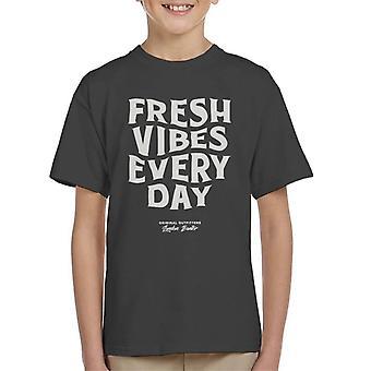 Londres Banter fresco Vibes todos os dias Kid ' s T-shirt