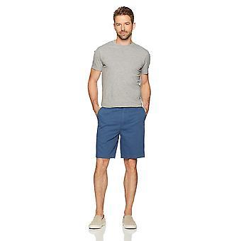 """Essentials Men's Classic-Fit 9"""" Short, Blue, 34"""