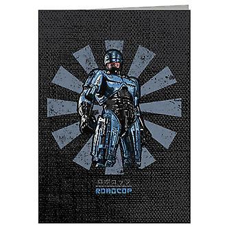 Robocop Retro japansk lykønskningskort