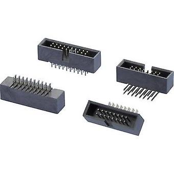 W & P productos Pin espaciamiento del contacto de la tira: Número Total de 1,27 mm de pines: 16 no. de filas: 2 1 PC