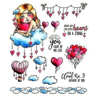 LDRS Creative Cloud No.9 Sellos de goma