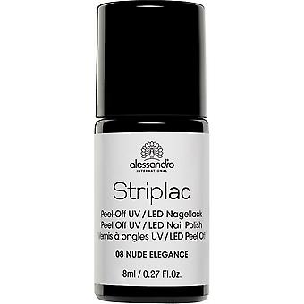 StripLAC Peel Off UV LED Nail Polish - Nude Elegance 8ml (108)