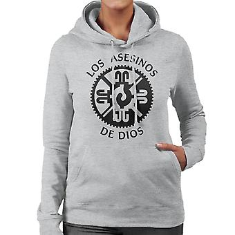 Mayans M.C. Motorcycle Club Los Asesinos De Dios Logo Women's Hooded Sweatshirt