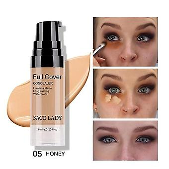 Face Makeup Cover Cream - Waterproof Natural Make Up For Eye Dark Circles Cosmetic