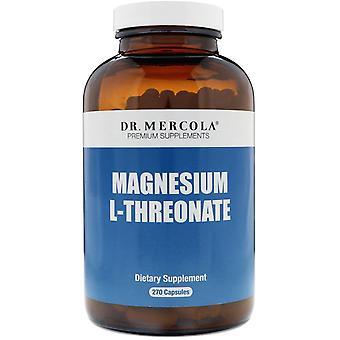 Dr. Mercola, Magnesium L-Threonate, 270 Capsules