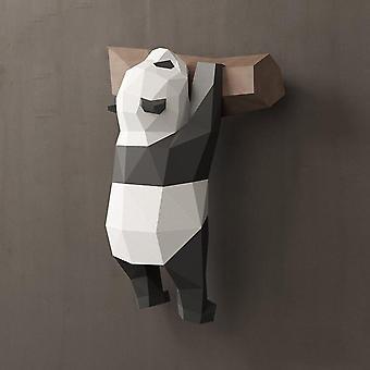New Panda Paper 3d  Material Manual Creative- Toys For Kids