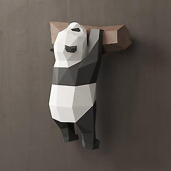 Panda Papper 3d Material Manuell Creative