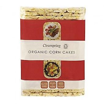 CLEARSPRING WHOLEFOODS - Organic Puffed Corn Cakes