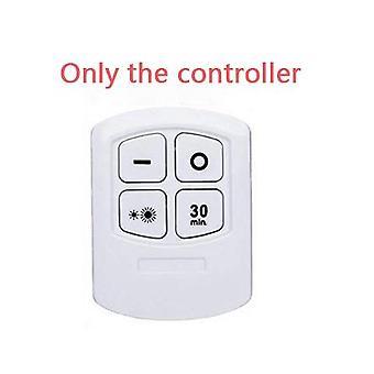 Led dimmabile sotto la luce dell'armadio con telecomando, lampada touch tap stick-on