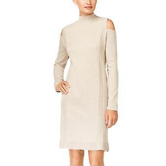 Tyyli ja | Kylmä olkapää villapaita mekko