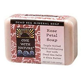 One with Nature Dead Sea Bar Soap, Rose