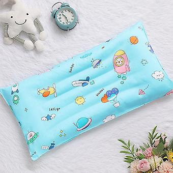 Cartoon Cotton Kids Pillow, Soft Washable Baby Sleeping Head Cushion