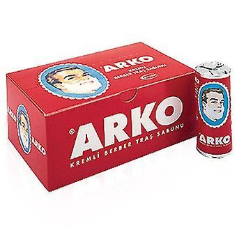 X12 Stück (Full Box) Arko Rasiercreme Seife Stick 75g