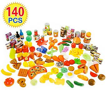 Cutting Fruits Vegetables, Kitchen Food Sets- Educational Classic Toy/
