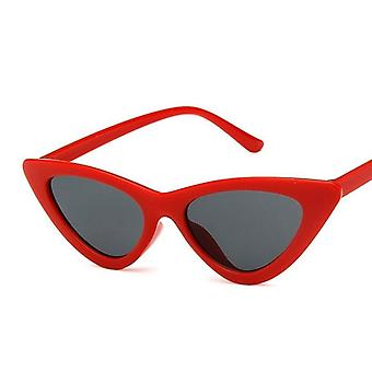 أزياء لطيف مثير السيدات القط العين النظارات الشمسية- المرأة خمر الرجعية الصغيرة