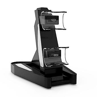 Fast Charging Docking Station Stand & Led Indicator For Ps5