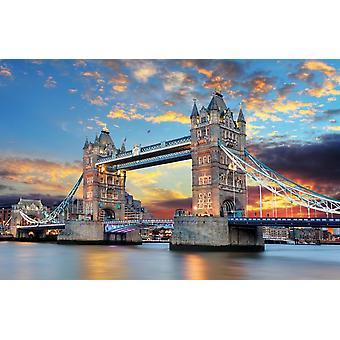 Wall Mural Tower Bridge en Londres, Reino Unido