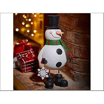 Smart Solar Sparkly Snowman Wobble 17 x 15 x 36cm 2530007