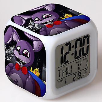 Colorful Multifunctional LED Children's Alarm Clock -Cinco noites no Freddy #19