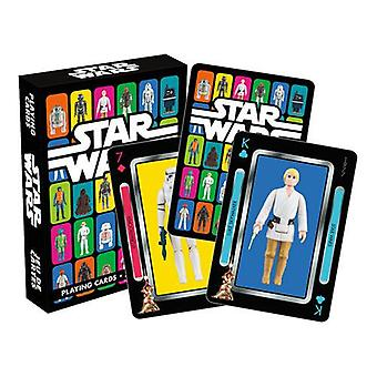 Star wars - action figures playing cards