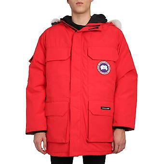 Canada Goose 4660m11 Men's Red Polyester Outerwear Jacket