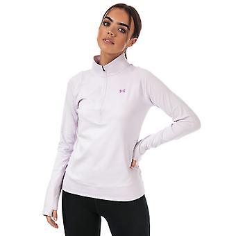 Women's Under Armour Storm Midlayer 1/2 Zip Top in Purple