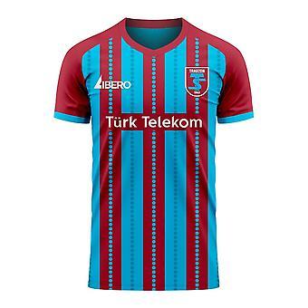 Trabzonspor 2020-2021 Home Concept Football Kit (Libero) - Kids