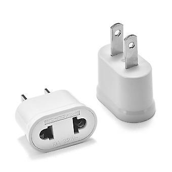 Usa Us Power Plug Adapter European Socket Eu To Us Plug Adapter Electric