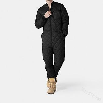 Mens One-piece Rompers, Winter Warm Garment, Zipper Playsuits, Clothing Autumn