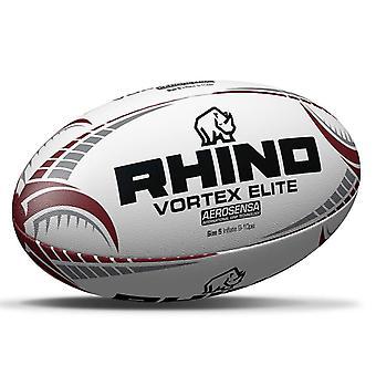وحيد القرن دوامة النخبة دوري الركبي الاتحاد مباراة تدريب الكرة الأبيض / بورغوندي -الحجم 5