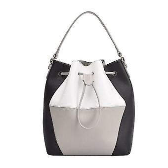 Maria Carla Woman's Fashion Luxury Nahka käsilaukku, Sileä nahka