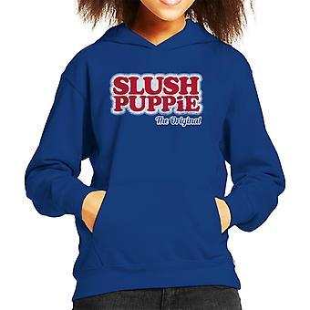 Slush Puppie The Original Logo Kid's Hooded Sweatshirt