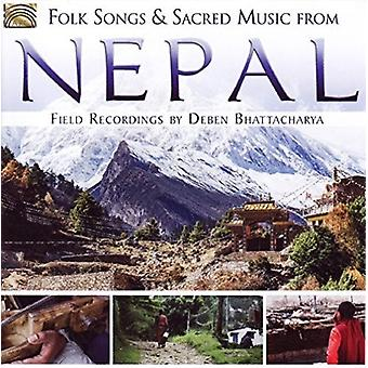 Deben Bhattacharya - Folk Songs & Sacred Music From Nepal: Field Recordings [CD] USA import