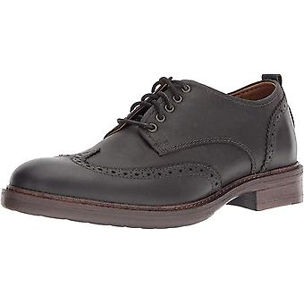 Lucky Brand Mens Hudson Leather Lace Up Dress Oxfords