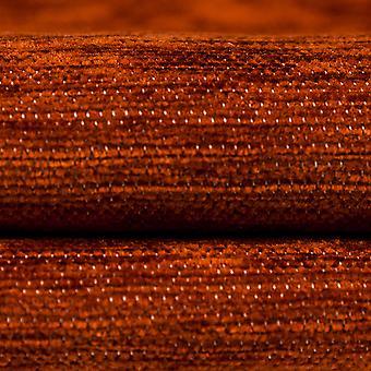 McAlister tekstiilit tavallinen Chenille palanut oranssi kangas näyte