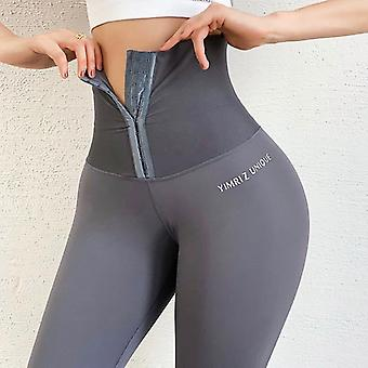 Yoga Stretchy Sport Leggings High Waist Compression Tights Women Gym Leggings