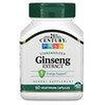 21st Century, Ginseng Extract, Standardized, 60 Vegetarian Capsule