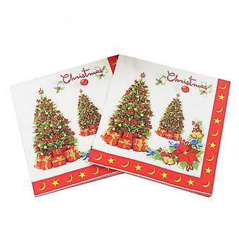 Christmas Napkin Paper