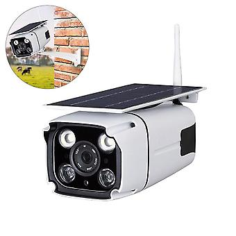 IP67 1080P HD Solar Powered Trådløs WIFI IP Surveillance Camera Night Vision Udendørs