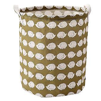 Мультфильм Хранение Box Грязная одежда Корзина Хранение ведро, складной водонепроницаемый ведро с ручкой