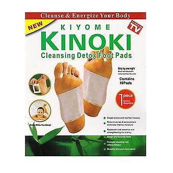 Kinoki Foot Patch - Puhdistavat Detox Jalkatyynyt (10-Pakkaus)