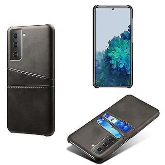 Samsung Galaxy S21 Plus Skal med kortplats - Svart