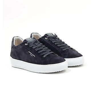 Android Homme Suede Carbon Trainers - Black