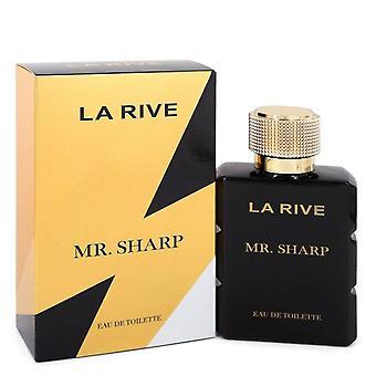 La Rive Mr. Sharp Eau De Toilette Spray By La Rive 3.3 oz Eau De Toilette Spray