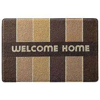 High absorption and anti-skid door mat, embossed door mat dirt trap anti-skid door mat, striped front door indoor and outdoor mat